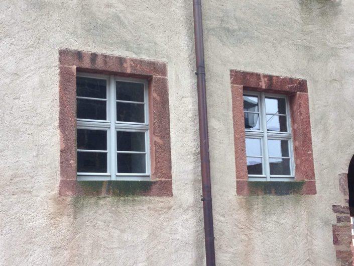Historische Fenster - Burg Mildenstein, Leisnig