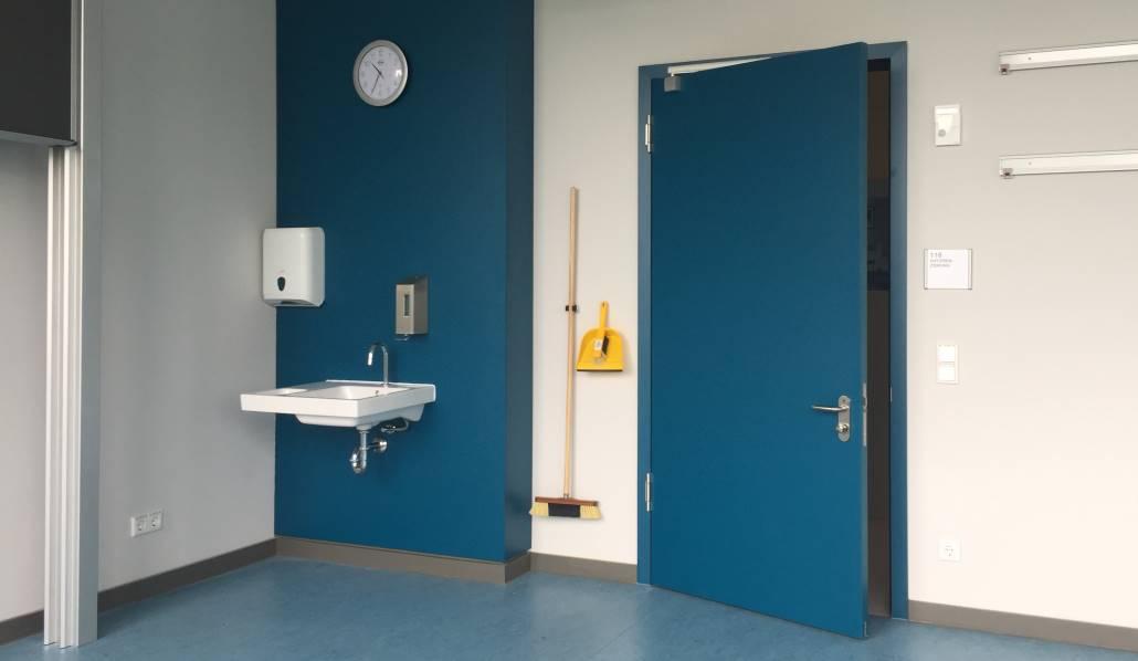 Türen für Klassenzimmer, behindertengerecht